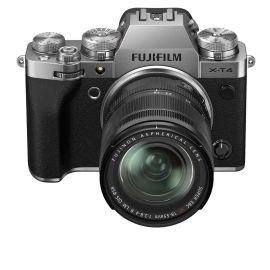 Fujifilm X-T4 Mirrorless Digital Camera with XF 18-55mm, Silver