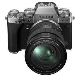 Fujifilm X-T4 Mirrorless Digital Camera with XF16-80mm, Silver