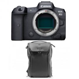 Canon EOS R5 Mirrorless Digital With 30L Backpack
