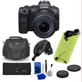 Canon EOS R6 Mirrorless Digital Camera with 24-105mm f/4-7.1 Lens with Accessories Kit