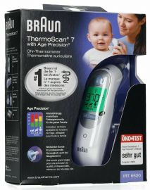 Braun ThermoScan 7 IRT6520 Baby Adult Professional Digital Ear Thermometer