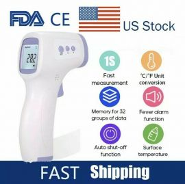 Infrared Thermometer Digital LED Forehead No-Touch Body Adult Temperature