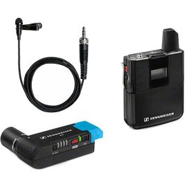 Sennheiser Lavalier Set: Includes bodypack transmitter, EKP plug-on receiver and M