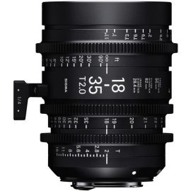 Sigma 18-35mm T2 Cine High-Speed Zoom Lens (PL)