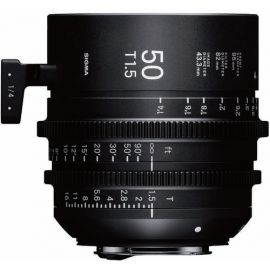 Sigma 50mm T1.5 FF High-Speed Prime Cine Lens (Canon EF)
