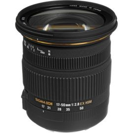 Sigma 17-50mm F/2.8 EX DC OS HSM Lens for Canon