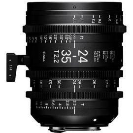 Sigma 24-35mm T2.2 FF Zoom Cine Lens (Canon EF)
