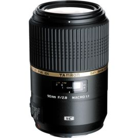 Tamron SP 90mm F/2.8 Di USD 1:1 Macro Lens w/ hood for Sony