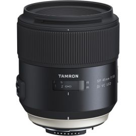 Tamron SP 45mm F/1.8 Di VC USD Lens w/hood for Nikon
