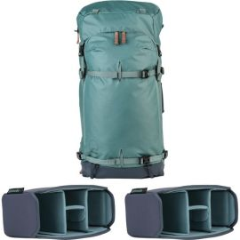 Shimoda Explore 60 Backpack Starter Kit - Sea Pine