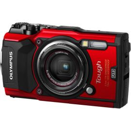 Olympus TG-5 Waterproof Digital Camera - Red