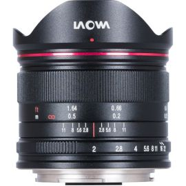 Venus Optics Laowa 7.5mm f/2 MFT Lens for Micro Four Thirds (Ultra-Light Version, Black)