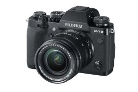 FUJIFILM X-T3 Mirrorless Camera with XF18-55mm f/2.8-4 Lens Kit, Black - Open Box