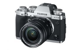 FUJIFILM X-T3 Mirrorless Camera with XF18-55mm f/2.8-4 Lens Kit, Silver - Open Box