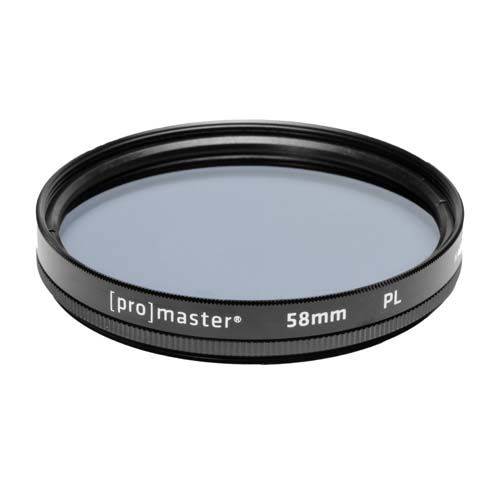 New ProMaster Polarizer Filter 58mm