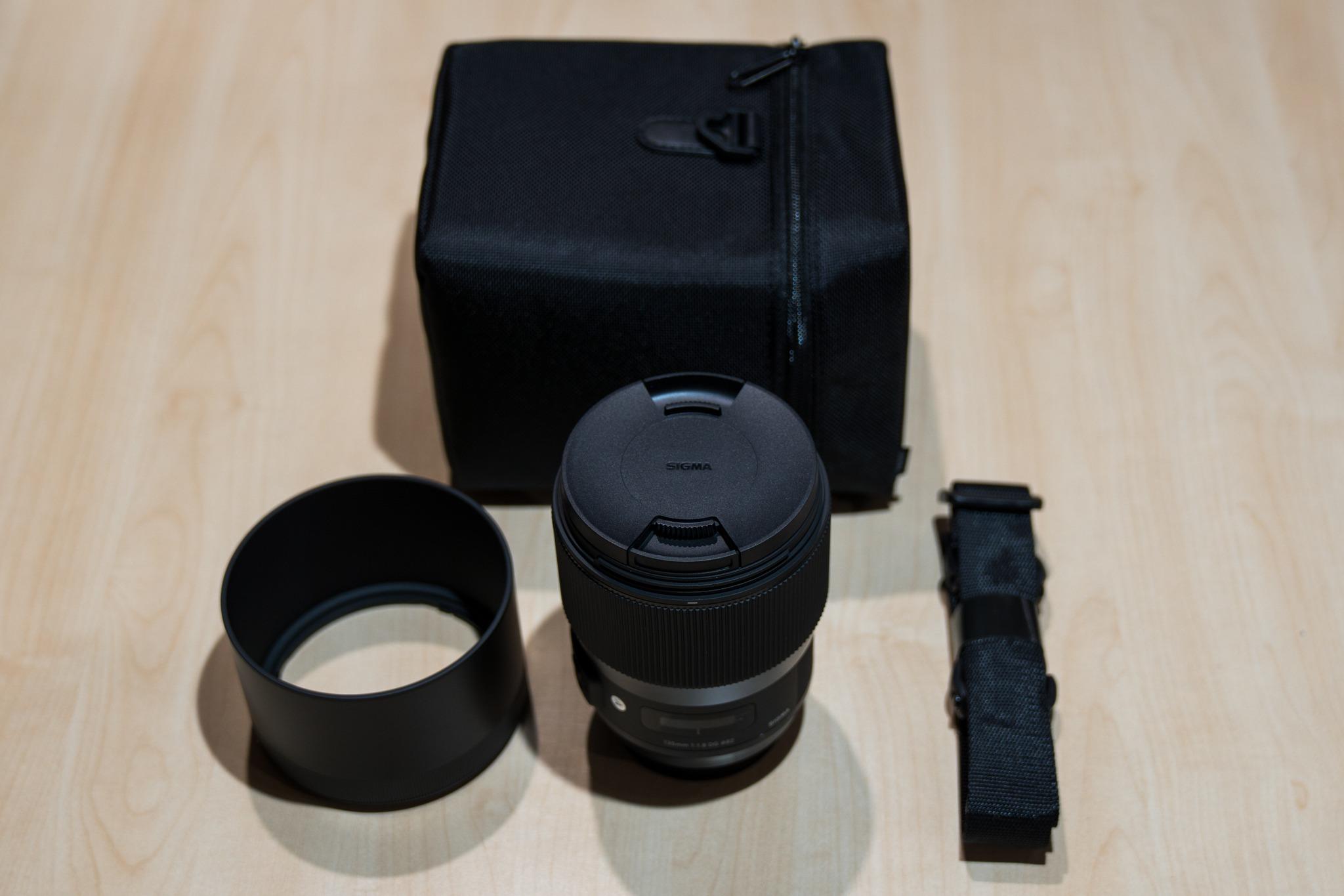 Sigma 135mm f/1.8 Art - First Impressions