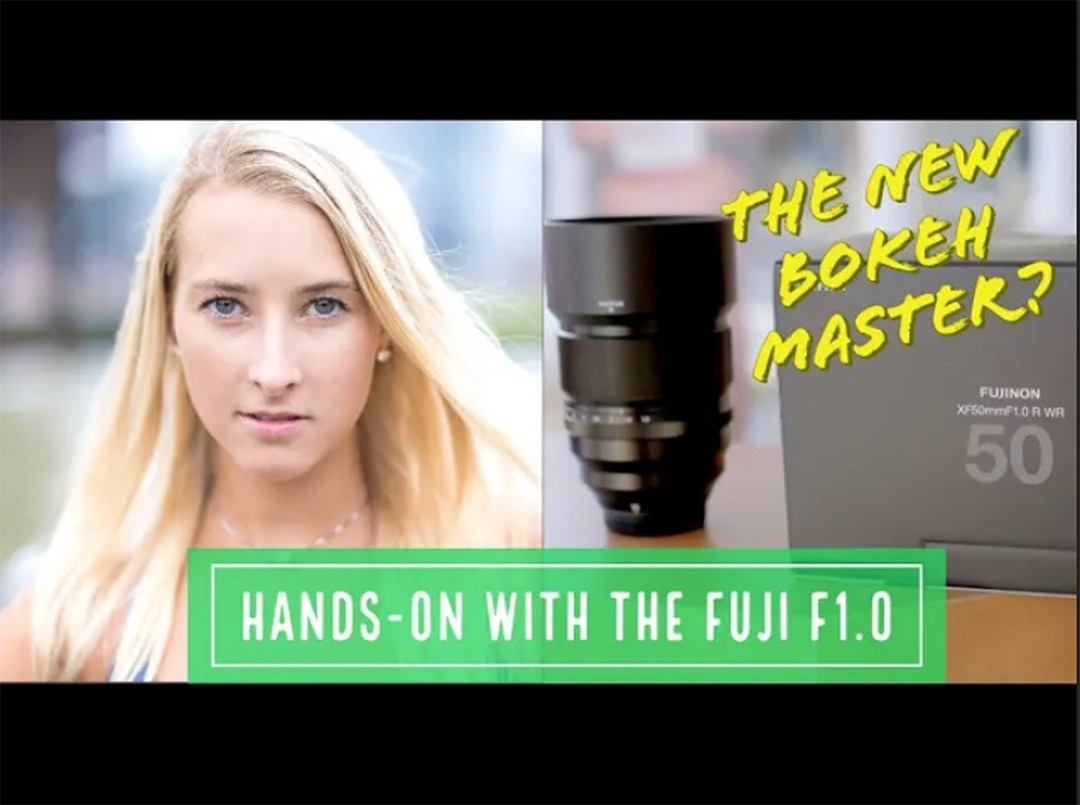 Fuji XF50mm f/1 R WR - The Ultimate X-Mount Portrait Lens? - A First Look