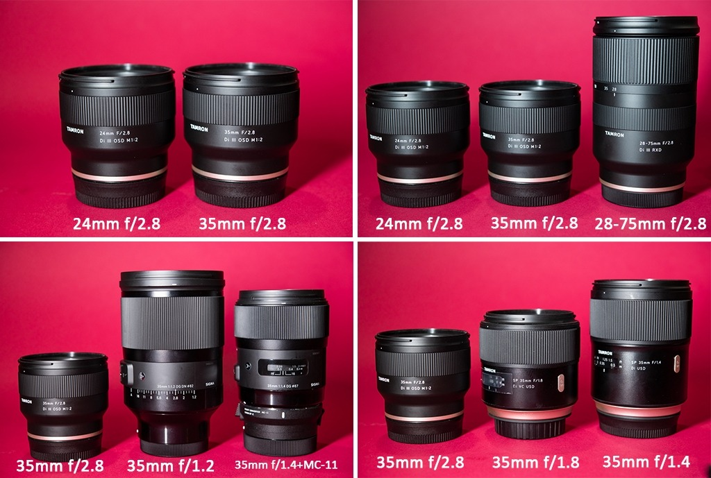 Tamron FE 24mm f/2.8 & 35mm f/2.8: Compact & Affordable Primes for Sony